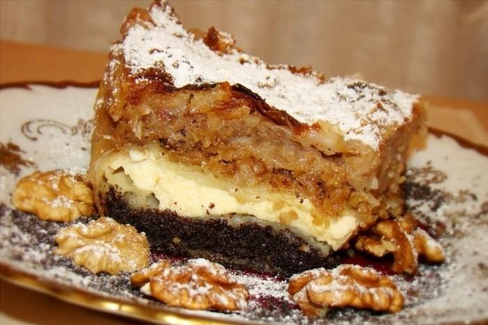MEĐIMURSKA GIBANICA: Mak, sir, orasi i jabuke…, sve u jednom kolaču!